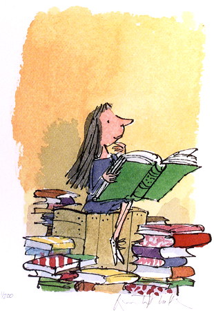 Matilda book lion |